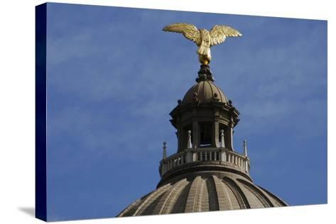 Jackson, Mississippi State Capitol, State of Mississipi, USA--Stretched Canvas Print