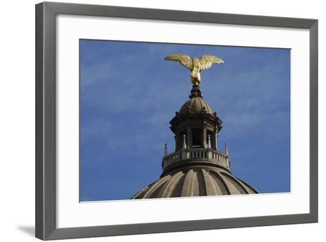 Jackson, Mississippi State Capitol, State of Mississipi, USA--Framed Art Print
