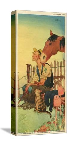 Illustration from 'John Bull', October 1950--Stretched Canvas Print