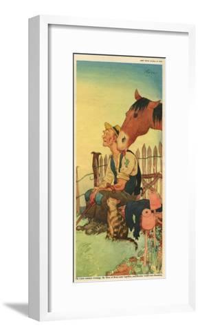 Illustration from 'John Bull', October 1950--Framed Art Print