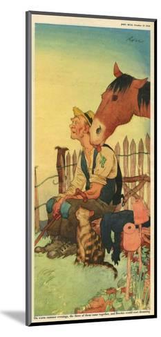 Illustration from 'John Bull', October 1950--Mounted Giclee Print