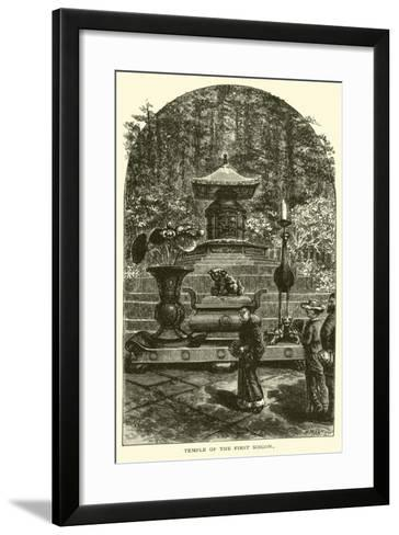 Temple of the First Soigon--Framed Art Print