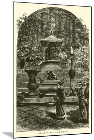 Temple of the First Soigon--Mounted Giclee Print