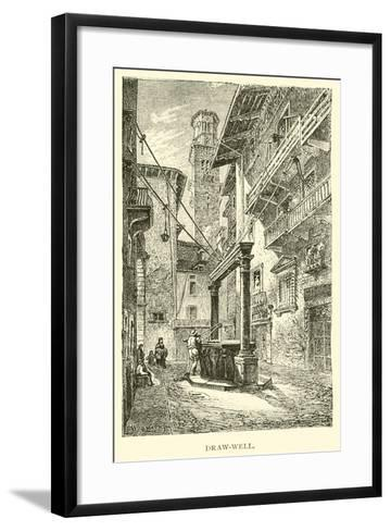 Draw-Well--Framed Art Print