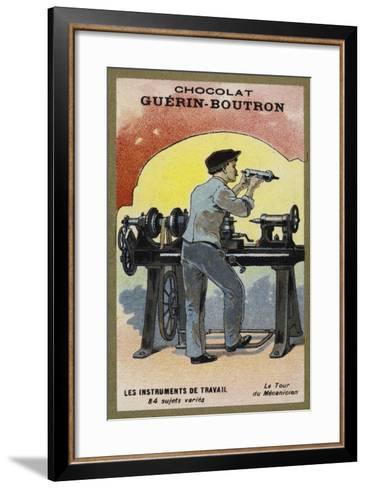 The Lathe--Framed Art Print
