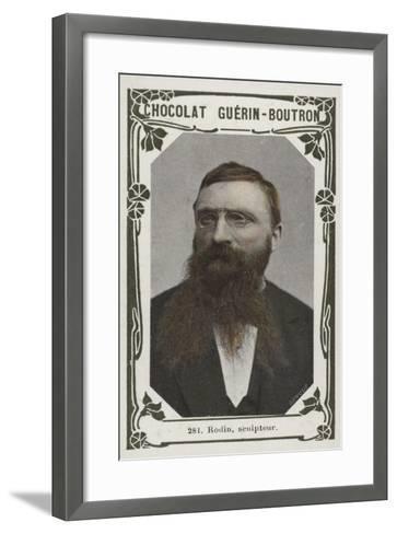 Rodin, Sculpteur--Framed Art Print