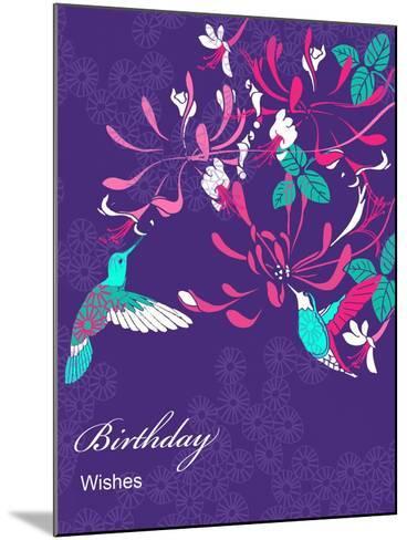 Honeysuckle Birthday, 2013-Anna Platts-Mounted Giclee Print