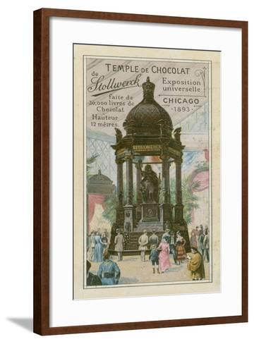 Temple of Chocolate by Stollwerck--Framed Art Print