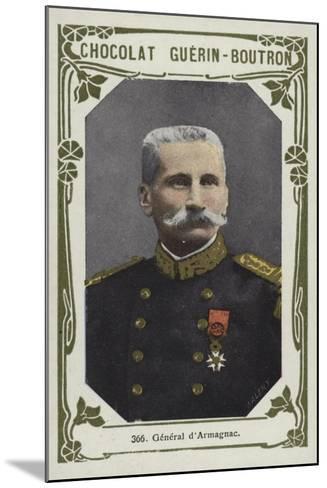 General D'Armagnac--Mounted Giclee Print