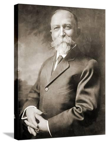 Portrait of John Harvey Kellogg--Stretched Canvas Print