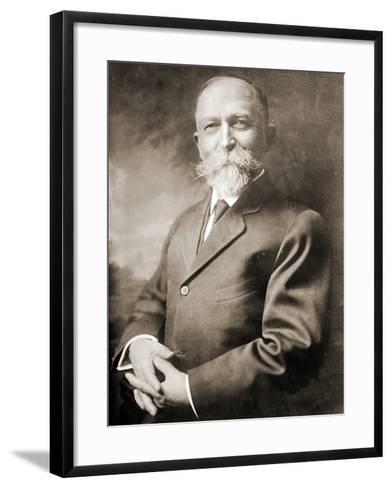 Portrait of John Harvey Kellogg--Framed Art Print