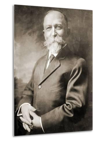 Portrait of John Harvey Kellogg--Metal Print