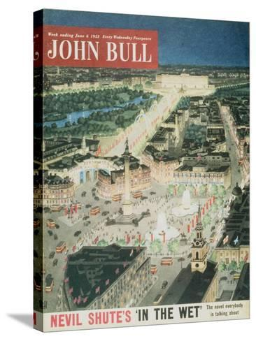 Front Cover of 'John Bull', June 1953--Stretched Canvas Print