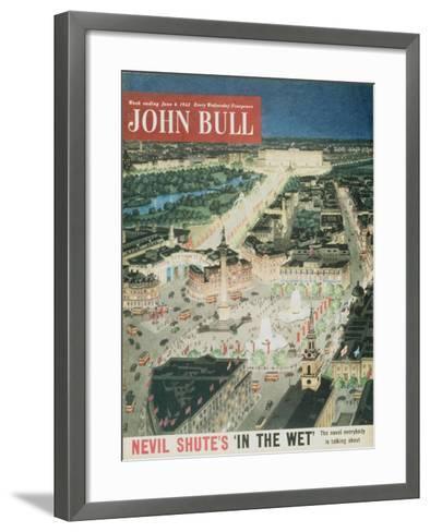 Front Cover of 'John Bull', June 1953--Framed Art Print