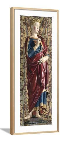 Gabriel by Jacopo Della Quercia--Framed Art Print