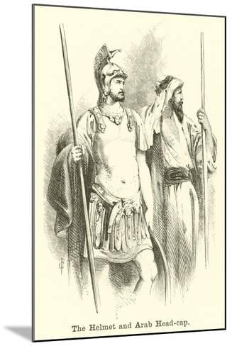 The Helmet and Arab Head-Cap--Mounted Giclee Print
