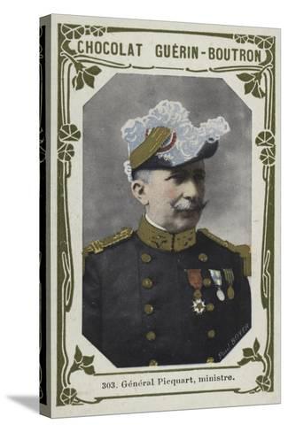 General Picquart, Ministre--Stretched Canvas Print