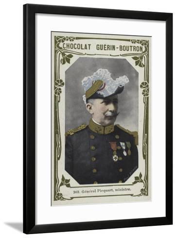 General Picquart, Ministre--Framed Art Print
