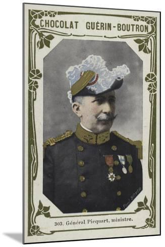 General Picquart, Ministre--Mounted Giclee Print