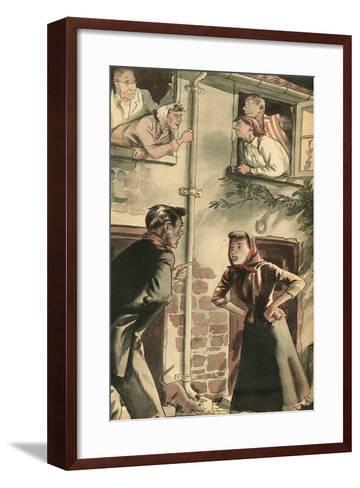 Illustration from 'John Bull', 1952--Framed Art Print
