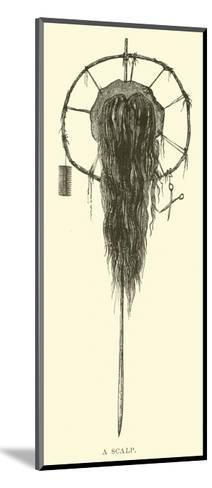 A Scalp--Mounted Giclee Print