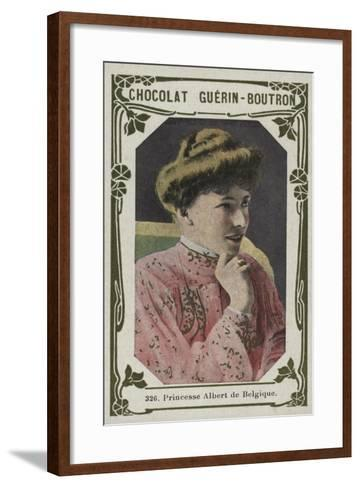 Princesse Albert De Belgique--Framed Art Print