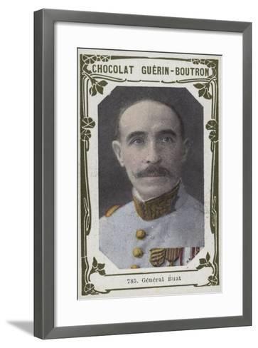 General Buat--Framed Art Print