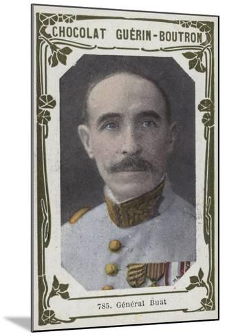 General Buat--Mounted Giclee Print