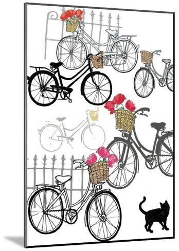 Bicycles, 2013-Anna Platts-Mounted Giclee Print