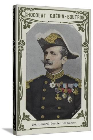 General Garnier Des Garets--Stretched Canvas Print