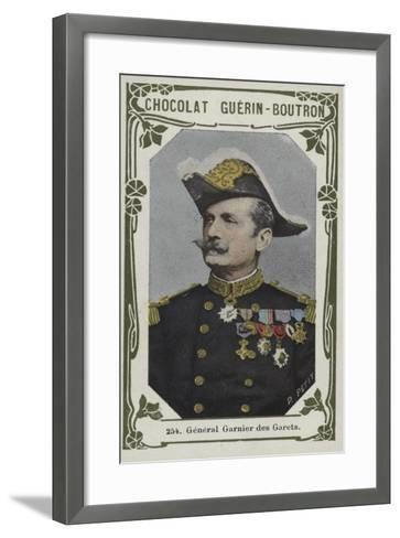 General Garnier Des Garets--Framed Art Print