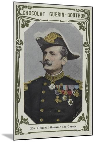 General Garnier Des Garets--Mounted Giclee Print