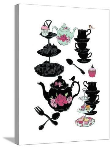 High Tea, 2013-Anna Platts-Stretched Canvas Print
