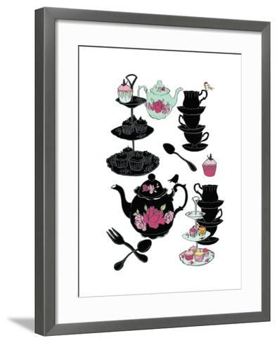 High Tea, 2013-Anna Platts-Framed Art Print