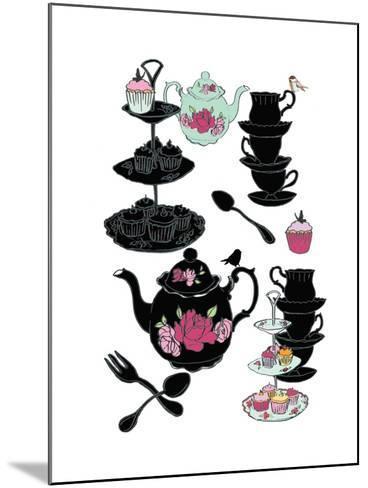 High Tea, 2013-Anna Platts-Mounted Giclee Print