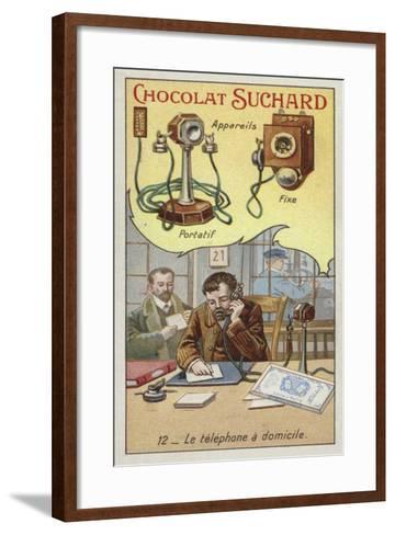Home Telephone--Framed Art Print