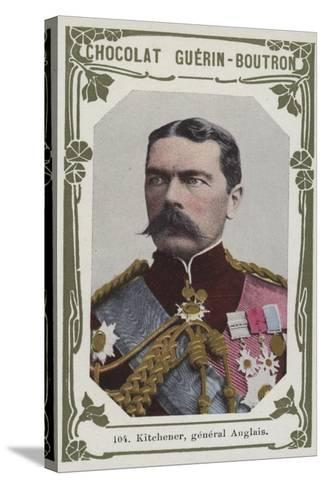 Kitchener, General Anglais--Stretched Canvas Print