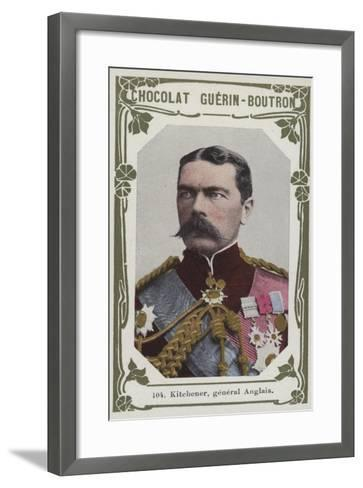 Kitchener, General Anglais--Framed Art Print