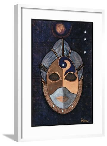 Priestess, 2013-Sabira Manek-Framed Art Print