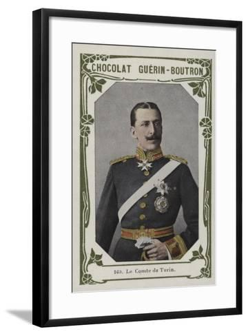 Le Comte De Turin--Framed Art Print