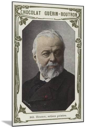 Henner, Artiste Peintre--Mounted Giclee Print