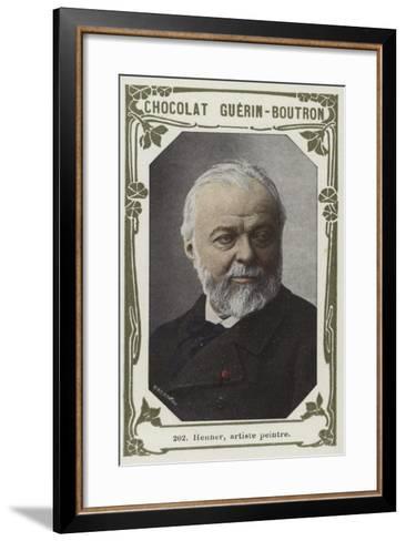 Henner, Artiste Peintre--Framed Art Print