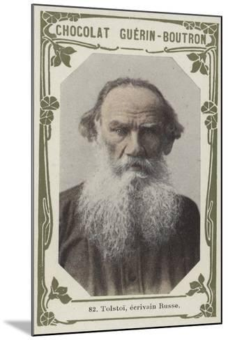 Tolstoi, Ecrivain Russe--Mounted Giclee Print
