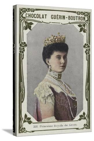 Princesse Royale De Grece--Stretched Canvas Print