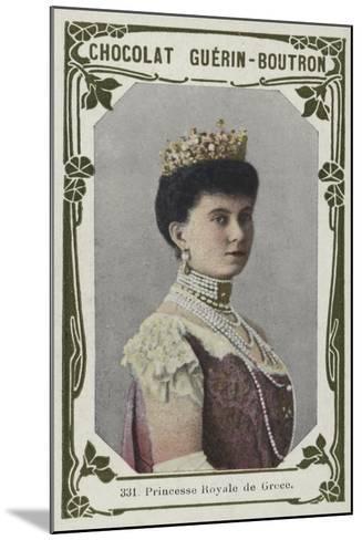 Princesse Royale De Grece--Mounted Giclee Print