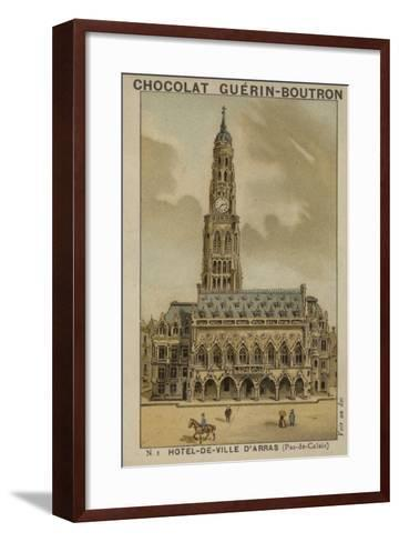 Hotel-De-Ville D'Arras, Pas-De-Calais--Framed Art Print