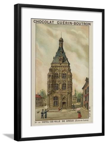 Hotel-De-Ville De Dreux, Eure-Et-Loire--Framed Art Print