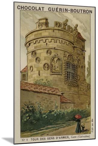 Tour Des Gens D'Armes, Caen, Calvados--Mounted Giclee Print