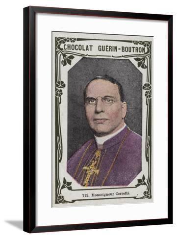 Monseigneur Cerretti--Framed Art Print
