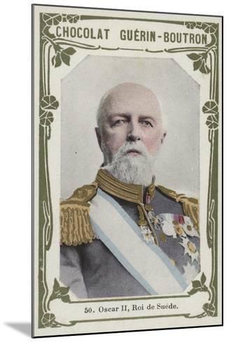 Oscar Ii, Roi De Suede--Mounted Giclee Print